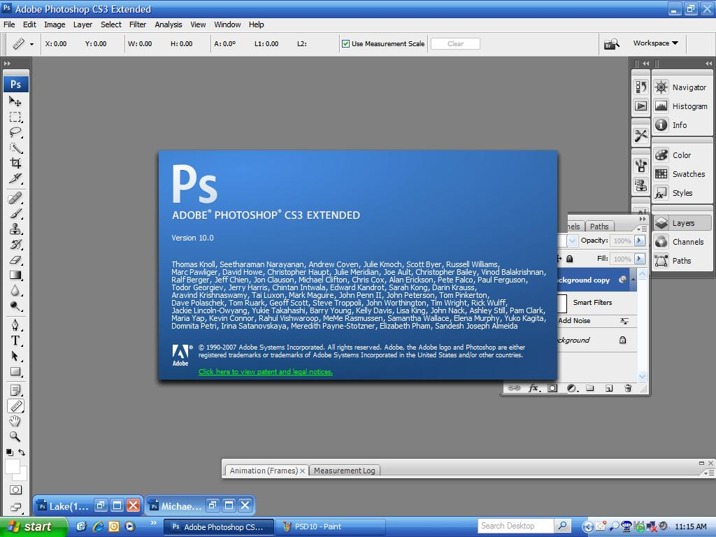 Installation process for Photoshop CC 2015