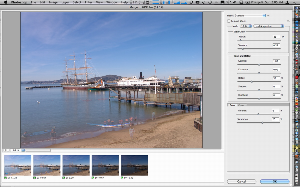 Adobe Photoshop CS5 for Mac HDR Imaging (2010)