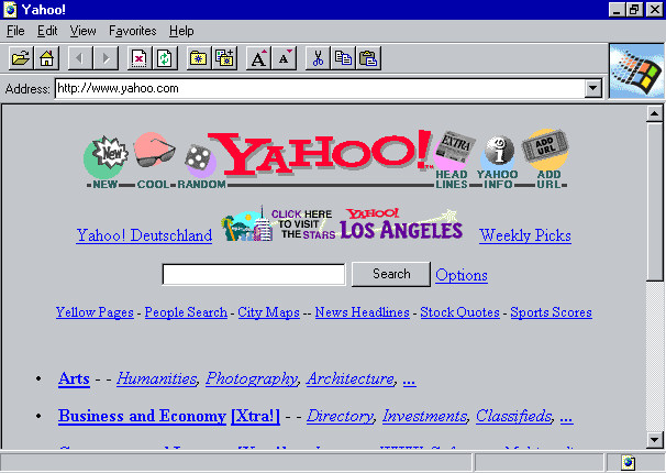 18 Years of Internet Explorer Design History - 54 Images ...