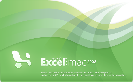 Excel 2008 for Mac (2008)