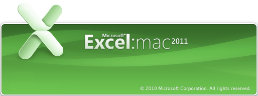 Excel 2011 for Mac (2011)