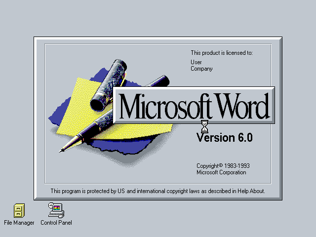35 Years of Microsoft Word Design History - 79 Images