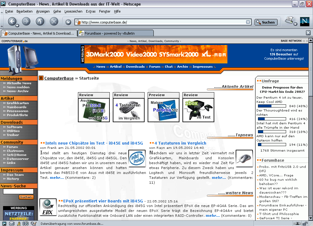 Netscape 7 for Windows (2002)