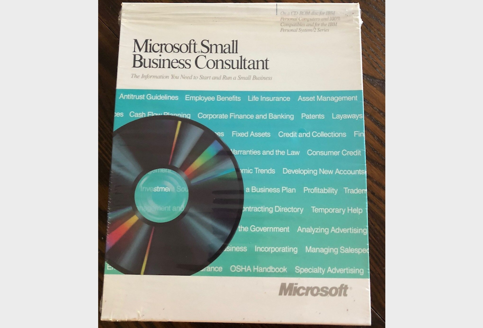 Microsoft Small Business Consultant Box (1989)