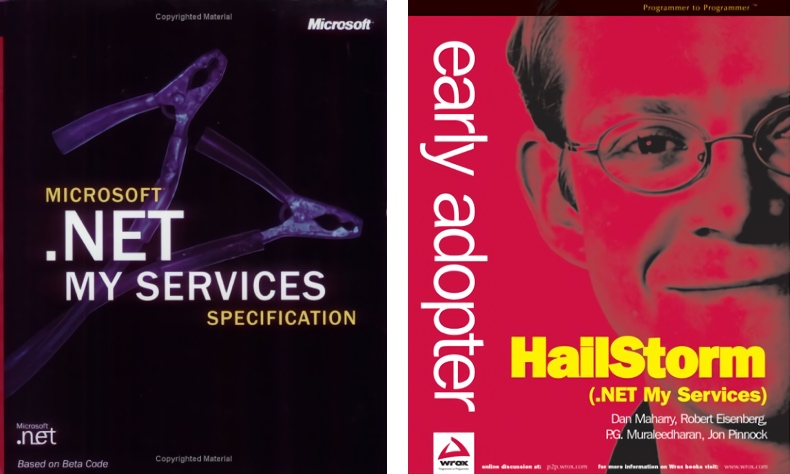 .NET MyServices Book Covers (2001)