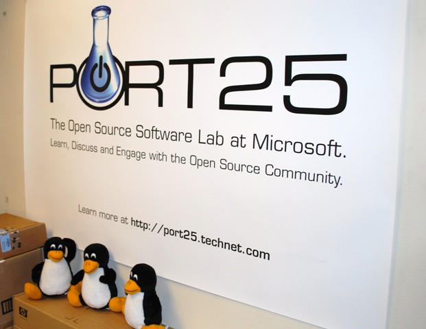 Microsoft Port 25 Open