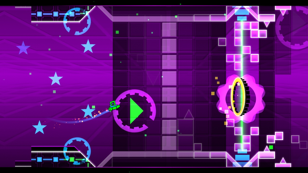 6 Years of Geometry Dash Game Design History - 30 Images