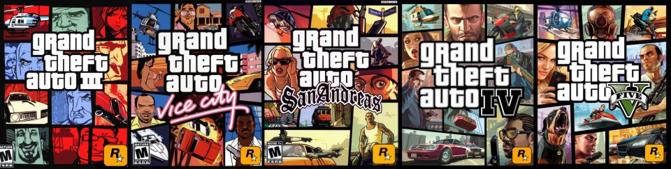 gta all made the games ever