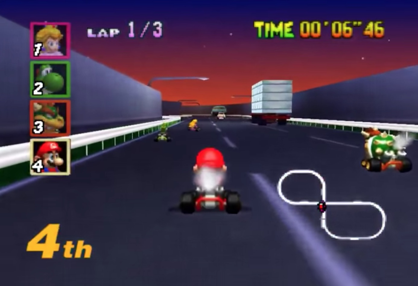 27 Years of Mario Kart Game Design History - 82 Images