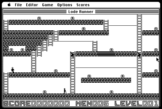 Lode Runner game (1984)