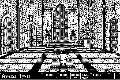 Dark Castle game (1986)