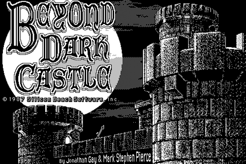 Beyond Dark Castle game (1987)
