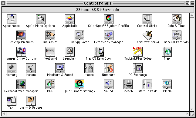 17 Years of Classic Mac OS Design History - 56 Images