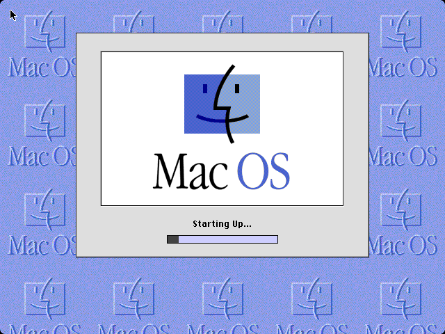 Mac OS 8 welcome screen (1997)