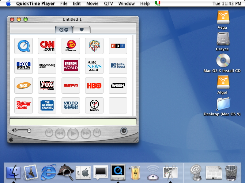 18 Years of Mac OS X Design History - 59 Images - Version Museum