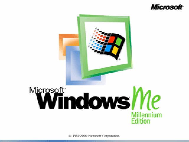 Windows ME Title Screen (2000)