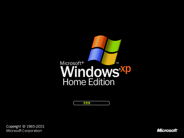 Windows XP Title Screen (2001)