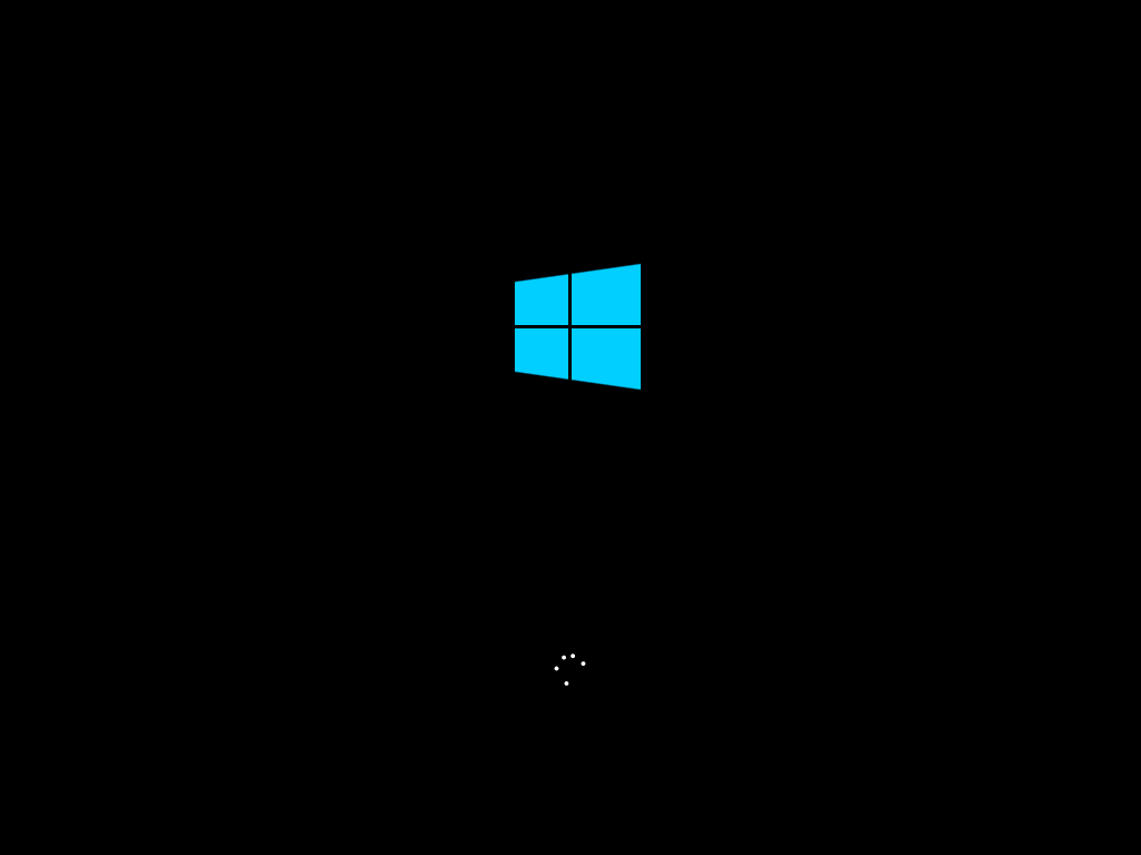 Windows 10 Title Screen (2015)