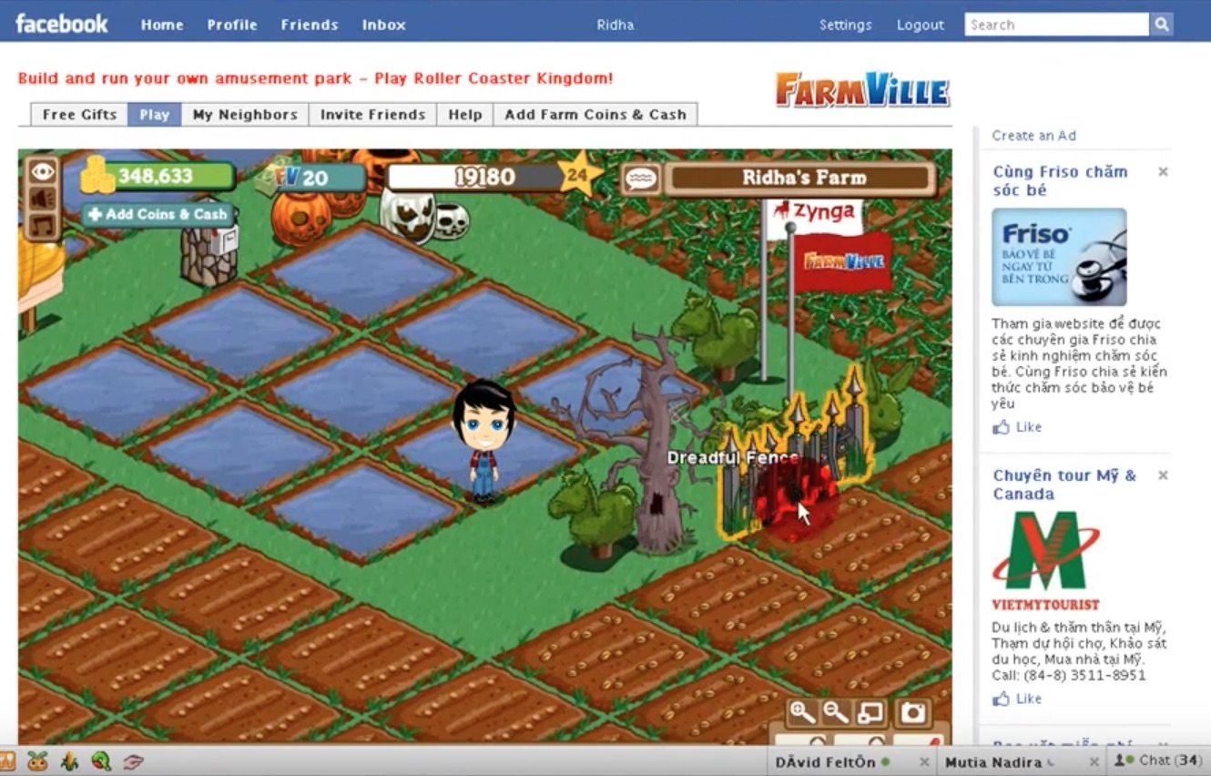 Farmville by Zynga (2009)