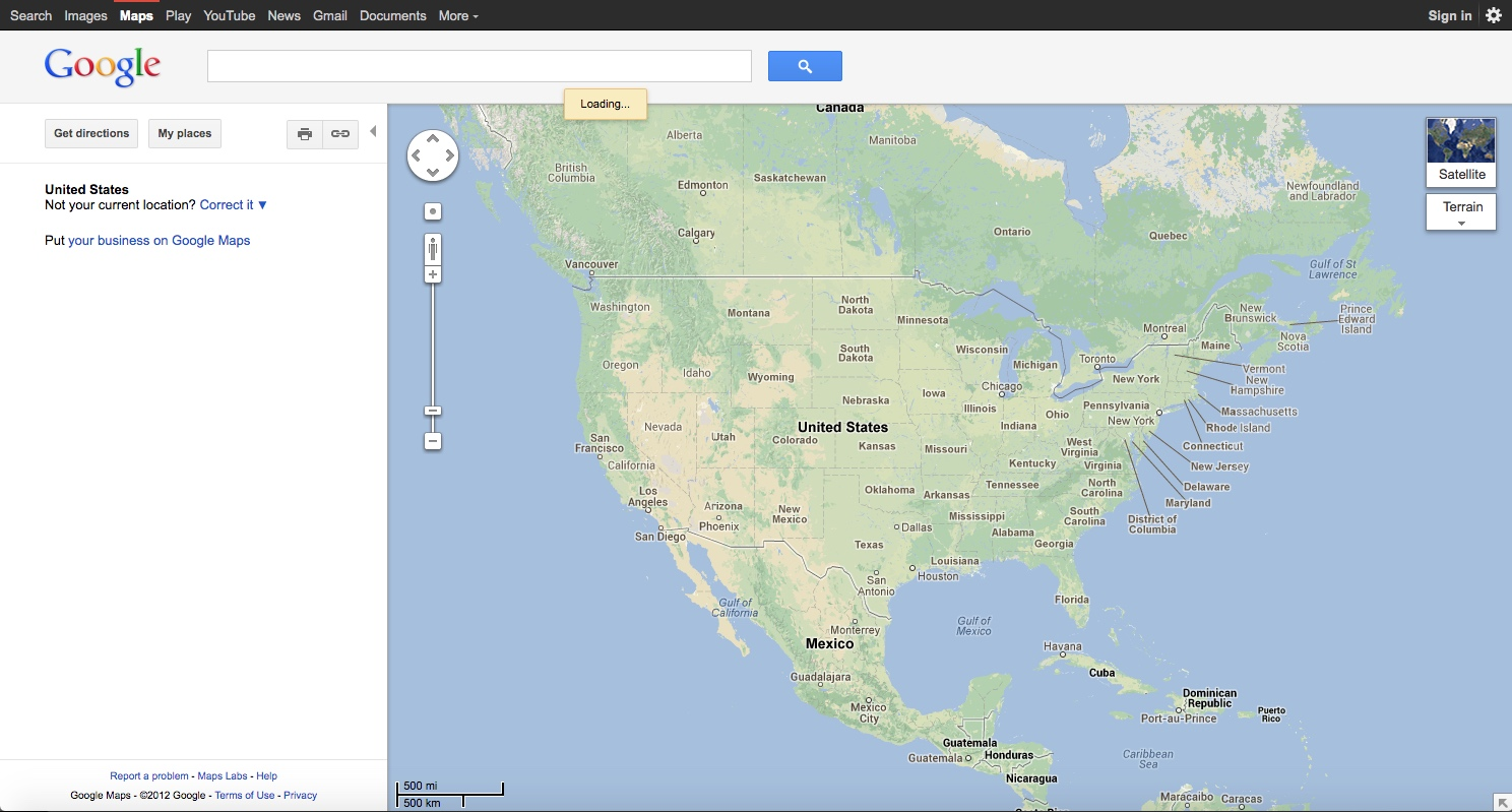 15 Years of Google Maps Website Design History - 48 Images ...